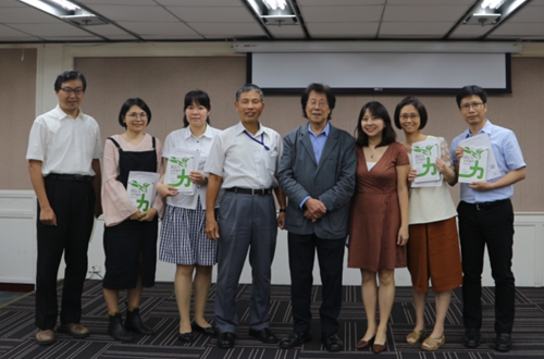 """The NACS and the Ministry of the Interior invite Professor Wu Jing-jyi to introduce his book """"Alluring Creativity"""""""